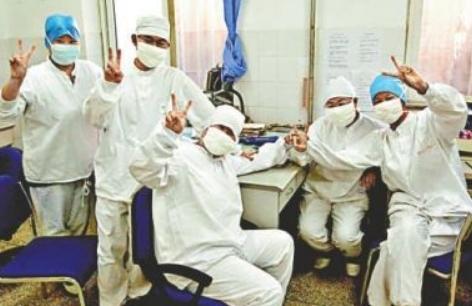 抗疫护士事迹